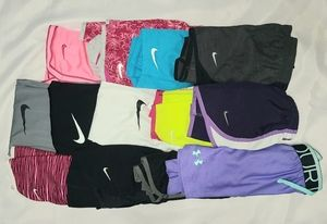 GIRLS ATHLETIC ATTIRE RE-SELERS LOT